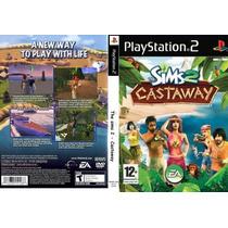 Sims 2 Cast Way - Ps2 - Frete Grátis