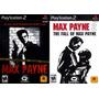 Max Payne 1 E 2 (kit 2 Jogos Play Station 2 Guerra