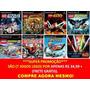 Jogos Lego E Marvel Ps2 (kit 7 Jogos Playstation 2)