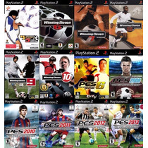 Pes 2013 Ps2 (kit 12 Jogos Play Station 2 Winning Eleven