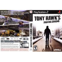 Tony Hawk´s Proving Ground - Ps2 - Frete Grátis