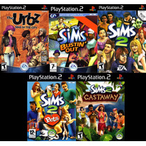 The Sims Collection Ps2 Frete Gratis !!!!!