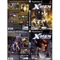 X Men Legends 1 E 2 Patch Coleção Ps2