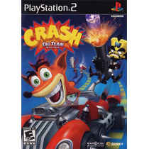Jogo Crash Tag Team Racing Ps2