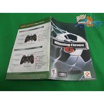 Playstation 2, Ps2 - Manual Wining Eleven 6