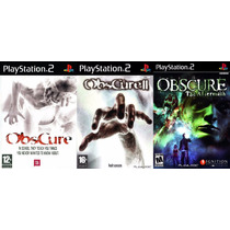 Obscure 1, 2 E 3 Ps2 (kit 3 Jogos Play Station 2 Terror