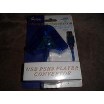 Adaptador Conversor Usb Para 2 Controles Ps2 A Unidade...