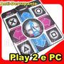 Tapete De Dança Playstation 2 Ps1- Computador Pc Usb + Jogo