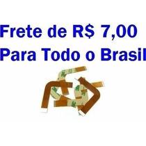 Cabo Flat Leitor Ps2 Slim Pacote Com 10 Peças Preço Especial