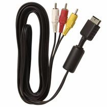Cabo Av Audio E Video Rca Playstation Ps1 Ps2 Ps3 Sony