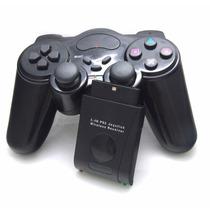 Joystick Controle Sem Fio Para Playstation 2 Ps2 Wireless