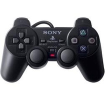 5 Controle Play Station2 Dual Shock Sony 75 Reais.