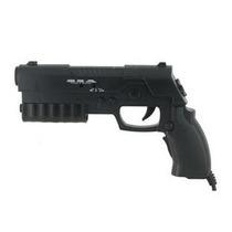 Controle Playstation 2 Pistola Ps2 Play 2+jogo De Brinde