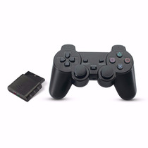 Kit 5 Controle Sem Fio Wireless Playstation 2 Ps2