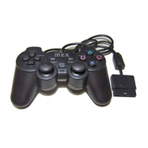 Controle Playstation 2 Joystick Ps2 Transparente Vibratorio