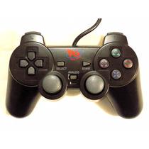 Controle Playstation 2 Com Fio Analogico Play Game