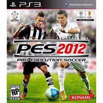 Jogo Ps3 Pro Evolution Soccer 2012 - Pes 2012