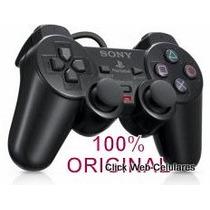 Controle Original Para Playstation2+garantia+brinde Especial
