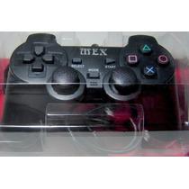 Controle Original Mex Ps2 Joystick Play 2 + Bomba Patch 2016