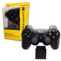 2 Unidades Controle Joystick Wireless S/fio Original Feir