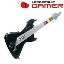 Guitarra S/ Fio P/ Guitar Hero Leadership 6822, Pc, Ps2 Nova