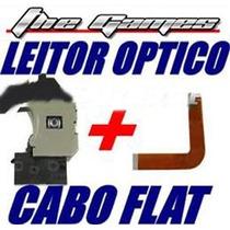 Leitor Óptico,canhão Original Ps2 Slim+cabo Flat Série 70000