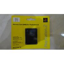 Memory Card 8mb Sony Original Playstation 2 Ps2 Novo Lacrado
