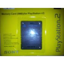 Playstation 2 - Memory Card Sony 8mb (lacrado)