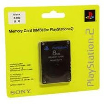 Memory Card 8mb Sony Para Ps2 Playstation 2 Com Nota Fiscal