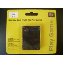 Memory Card Playstation2 - 8 Mb - Play Game Novo Lacrado
