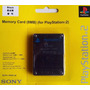 Kit Com 5 Memory Cards 8mb Sony- Ps2