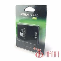 Memory Card Original Ps2 Infokit 8 Mb + 2 Brindes Cartão