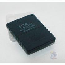 Memory Card Ps2 Sony 128mb Para Playstation 2 Pronta Entrega