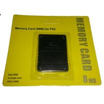 Memory Card 8mb Playstation 2 Sony Lacrado, Novo. Frete Fixo