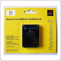 Memory Card 8mb Play Playstation 2 Play 2 Ps2 Cartão