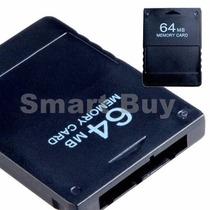 Cartão Memoria Ps2 Memory Card Playstation2 64mb Frete Free