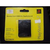 Memory Card Sony 8mb Playstation2 Ps2 Cartão Memória
