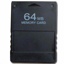 Memory Card De 64 Mb Para Playstation 2 (ps2)