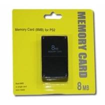 Memory Card 8 Mb Com Fmcb Desbloqueie Seu Ps2 Com O Memory