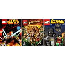 Lego Batman-indiana-star Wars - Ps 2 Trilogia.