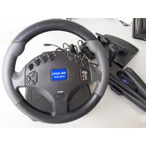 Volante Para Pc Playstation 2 Sting Ray Turbo Shock