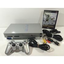 Playstation 2 Fat Ediçao Limitada Silver Japones Scph-39000