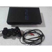 Playstation Fat Travado + Controle Original+5 Jogos Original