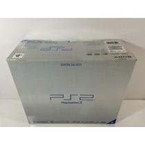 Playstation 2 Fat Ediçao Limitada Satin Silver -scph -50000