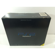 Playstation 2 Fat Midnight Black Scph-50000 Japones + Caixa
