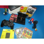 Ps2 Slim+5jogos+memore Card1+brinde Game Original Sony