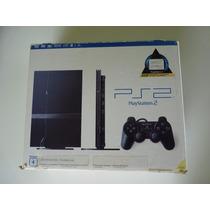 Playstation 2 Slim Novinho Na Caixa Desbloqueado