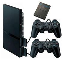 Playstation 2 Desbloqueado Matrix + 2 Controle + Memory Card