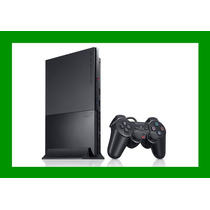 Playstation 2 Preto Ps2 + 4 Jogos + Memory Card 8mb Original