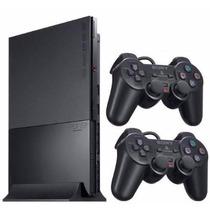 Playstation 2 Destravado+2 Controles+ 5 Brinde -frete Grátis